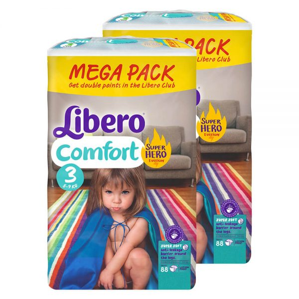 Comfort-3-Superhero-Mega-Duo-Pack-2×88-buc