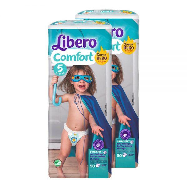 Comfort-5-Superhero-Jumbo-Duo-Pack-2×50-buc