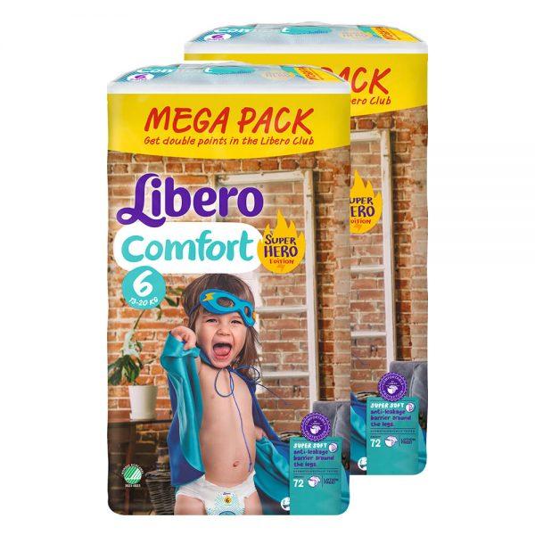 Comfort-6-Superhero-Mega-Duo-Pack-2×72-buc